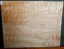 Quilted Maple Music Wood 8373 Luthier 5A Guitar Top Set 21 1/2 x 17+ x 5/8