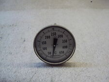 "ASHCROFT INDUSTRIAL 5"" THERMOMETER BIMETAL TYPE E1  NEW"