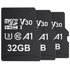 MyMemory 32GB V30 PRO Micro SDHC TF  Card A1 UHS-1 U3 SD Adapter 100MB/s 3 Pack