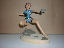 "TOMB RAIDER  "" Prague "" figurine resine"