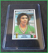 ROOKIE WC Sticker - Hugo Sanchez - Mexico - Panini World Cup 1978 - Ex' Cond