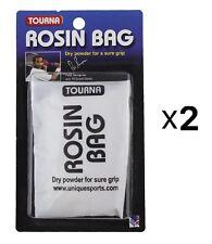 Unique Tourna Rosin Bag - Dry Powder Sure Grip Tennis Golf Pool Bowling (2-Pack)