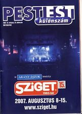 SZIGET FESTIVAL 2007 - FESTIVAL GUIDE - TOOL - NINE INCH NAILS - THE KILLERS