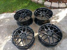 19/20 satin black Morr VS70 wheels for 97-04,05-12,14-up C7,C6,C5 Corvette