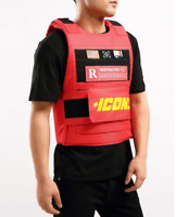 """Hudson Outerwear Red """"ICONS"""" Vest"""