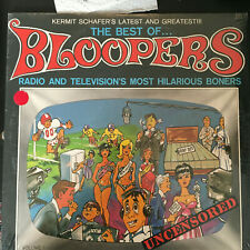 SEALED 4 Lp Record Lot BLOOPERS Charlie Mcarthy TELEPHONES Independence 200