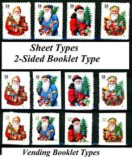 Victorian Santa Complete Set of All 12 MNH Scott's 3537 to 3544