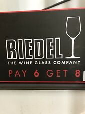 Riedel 741605 Vinum Chablis Chardonnay wine glass, Set of 8