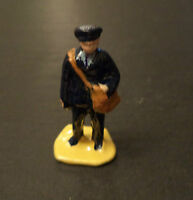 Dinky Postman Figure  No.12e Unpainted  Metal  Casting / spare parts