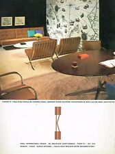 C- Publicité Advertising 1966 Meubles Knoll International