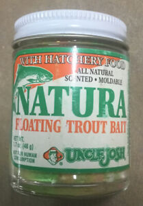 UNCLE JOSH Natura 'Rainbow' Anise Scented Floating Trout Bait
