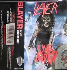 Slayer – Live Undead Rare Cassette MC Metal Blade MBC 14033 Thrash Speed  Metal