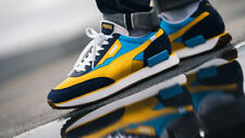 Puma Future Rider OG Pack Hawaiian Ocean Spectra Yellow Trainers Sneakers Shoes