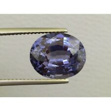 Natural Spinel 6.10 carats Purple color Oval shape very eye clean