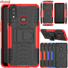 For Samsung Galaxy A10 s / A20 s Shockproof Hard Protective Kickstand Case Cover