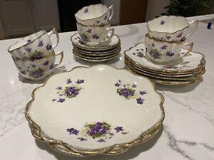 Bone China Crockery (Melba) 1908 - Cups, Saucers, Plates