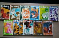 GetBackers 1-6, 8-11, 14 Lot of 11 Shonen Manga, English, 16+, Yuya Aoki