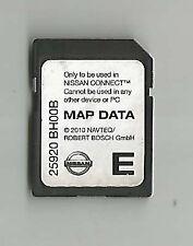 Tarjeta SD Nissan Connect 2009-2013 Nav mapa Micra Note Cube Qashqai Juke 25920BH00B