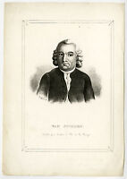 Antique Print-JEAN HENRY VAN SWINDEN-MATHEMATICIAN-Anonymous-ca. 1840