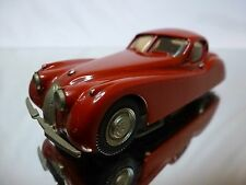 WESTERN MODELS KIT (built) JAGUAR XK 150 FIXED HEAD COUPE - RED 1:43 - GOOD