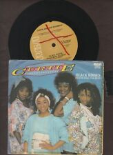 """Curtie And The Boombox - Black Kisses - 1985 7"""" picture sleeve single 45rpm"""