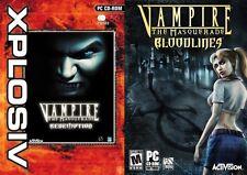Vampire the Masquerade Bloodlines & Vampire the Masquerade redemption