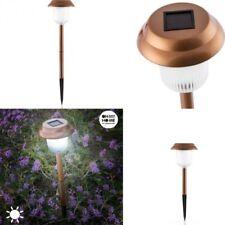 Lampara Solar Luz Led para jardin 11x44cm,bateria,fotocelda,encendido automatico