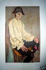 Gabriel Dauchot Lithographie signée numérotée arlequin peintres témoins
