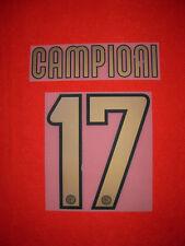 KIT CAMPIONI 17 SCUDETTO ORO X MAGLIA CALCIO INTER NUOVO STILSCREEN