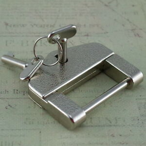 Antique Style Mini Padlocks With Keys Silver Color Small Padlock-New