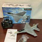 Volantexrc Gray Stabilizer System 2.4GHz Remote Control F16 Falcon Airplane