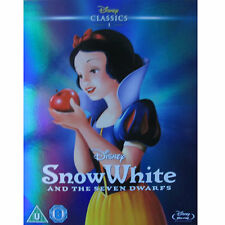SNOW WHITE AND THE SEVEN DWARFS - DISNEY BLU RAY - O RING SLIP COVER