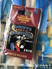 New Sealed 2018 PIN Disney World Marathon Weekend GOOFY'S RACE & 1/2 CHALLENGE