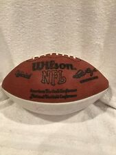 AWESOME Mid 1970's Minnesota Vikings Team Signed White Panel Wilson Football WOW