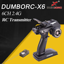 DUMBORC-X6 6CH 2.4G RC Radio Controller Transmitter with Mixed Mode+X6F Receiver