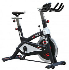 New Vortex V700 Light Commercial Indoor Spin Bike with computer monitor and 22kg