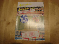 Away Teams Crystal Palace Division 2 Football Programmes