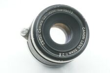 """""""TESTED / EXC"""" CANON 50mm f2.8 Leica screw mount L39 LTM From JAPAN"""