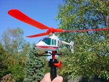 2 HI FLYING MODEL HELICOPTER PULL HI ALTITUDE FLYING FAST  W/ SAFETY GLASSES