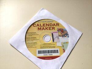 Art Explosion Calendar Maker CD