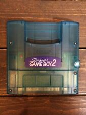 Nintendo Super Gameboy 2 SNES SFC GB Clear Blue from Japan
