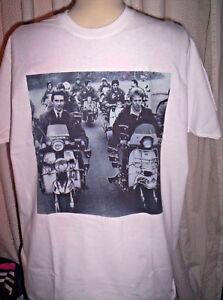 QUADROPHENIA T-SHIRT. The Who, Mod, scooter, Vespa.