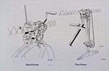 IH McCormick Deering Farmall Sickle Mower Knife Grinder Tool Grinder Parts Book