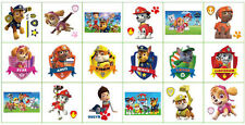 10 x PAW PATROL temporarytattoo COMPLEANNO PARTY BORSA FILLER, UK Venditore,