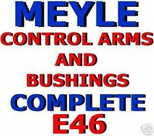 CONTROL Arms + BUSHINGS MEYLE BMW E46 3-series 325 328 330 i ic ci HEAVY DUTY