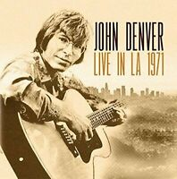 John Denver - Live In LA 1971 (2016)  CD  NEW/SEALED  SPEEDYPOST