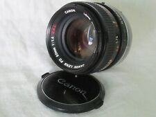 CANON Lens FD 50mm f/1.4 SSC FILM SLR Camera 686874