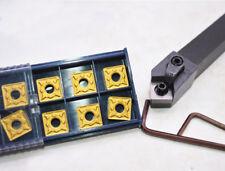 Mssnr1616h12 Lathe Turning Tool Holder 10pc Snmg120408 Snmg432 Carbide Insert