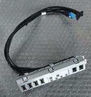 Dell DH7MN Optiplex 7010, 9010 MiniTower Front Audio / USB / LED  IO Input Panel