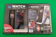 SUPERMAN CLASSIC COMIC COVERS COLLECTORS WATCH LIMITED EDITION NIB LEATHER BAND